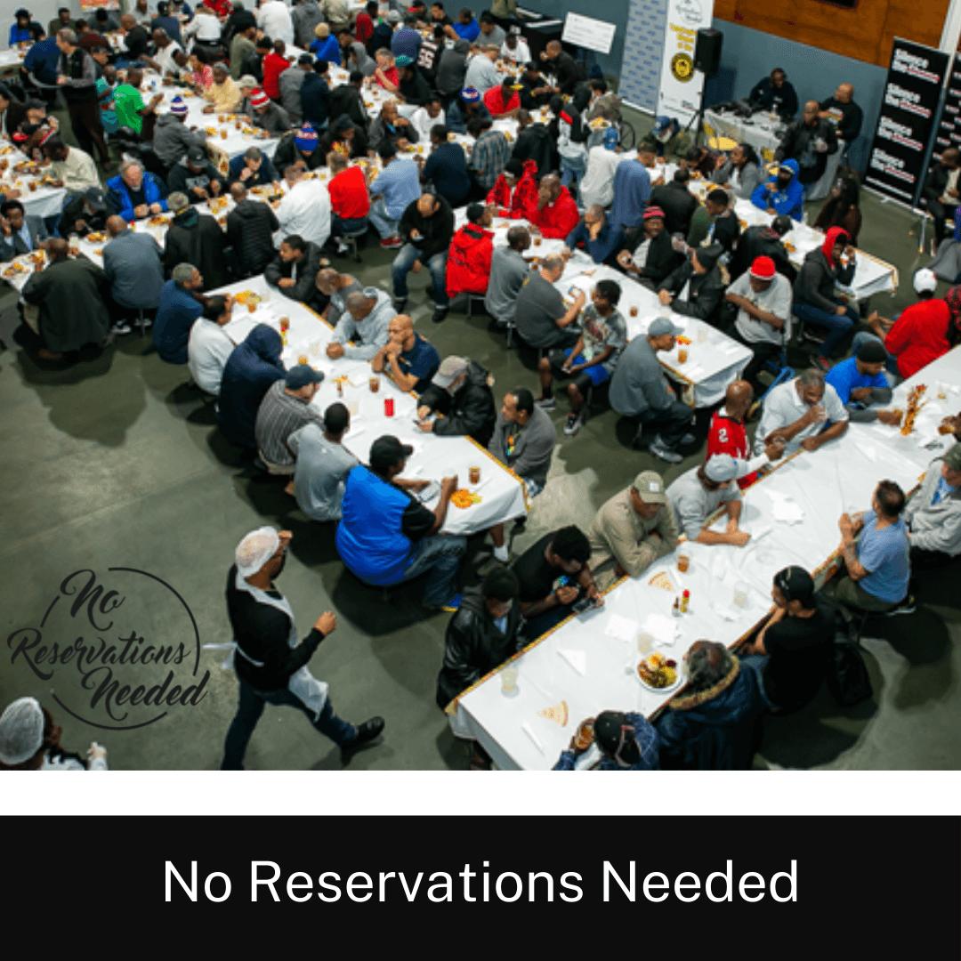 November 22nd: No Reservations Needed Thanksgiving Dinner