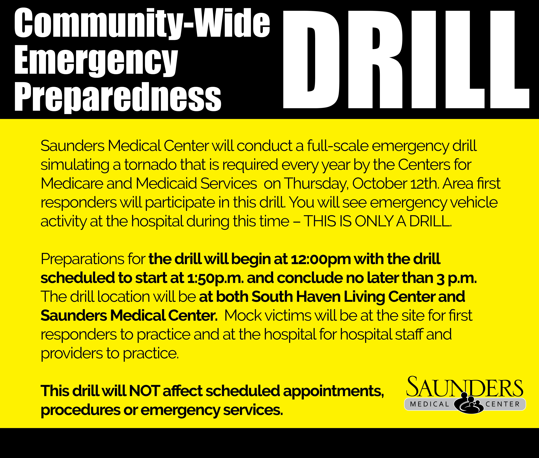 Saunders Medical Center : Hospital : Quality & Safety