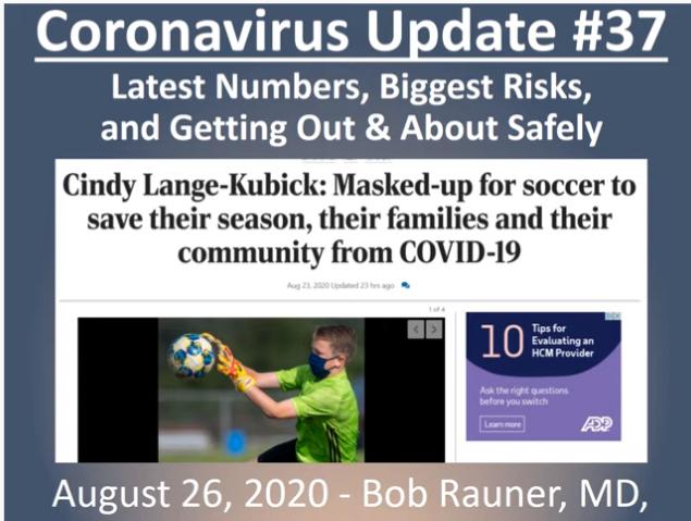 August 27, 2020 Update