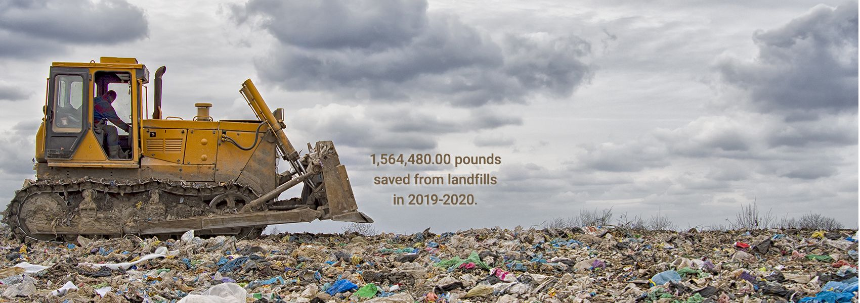 Doing our part to save the planet.