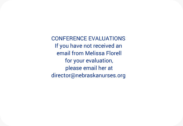 Conference Evaluations