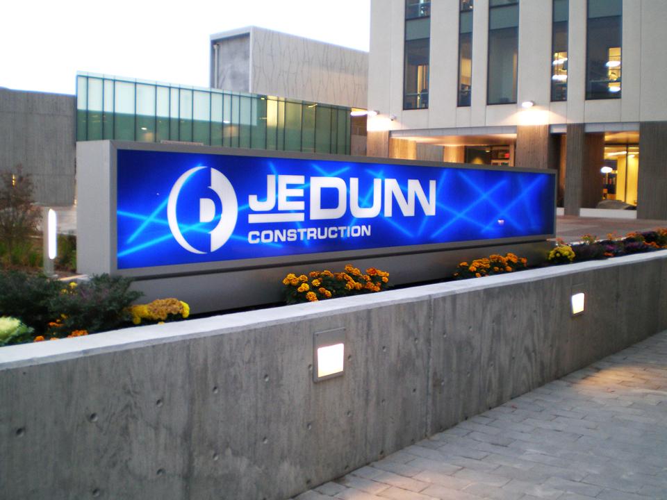 JE Dunn Monument
