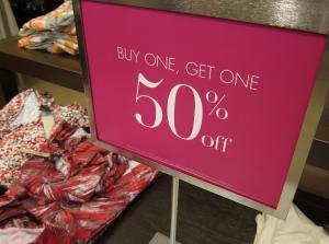 Retail sale signs Gilbert Tempe Chandler