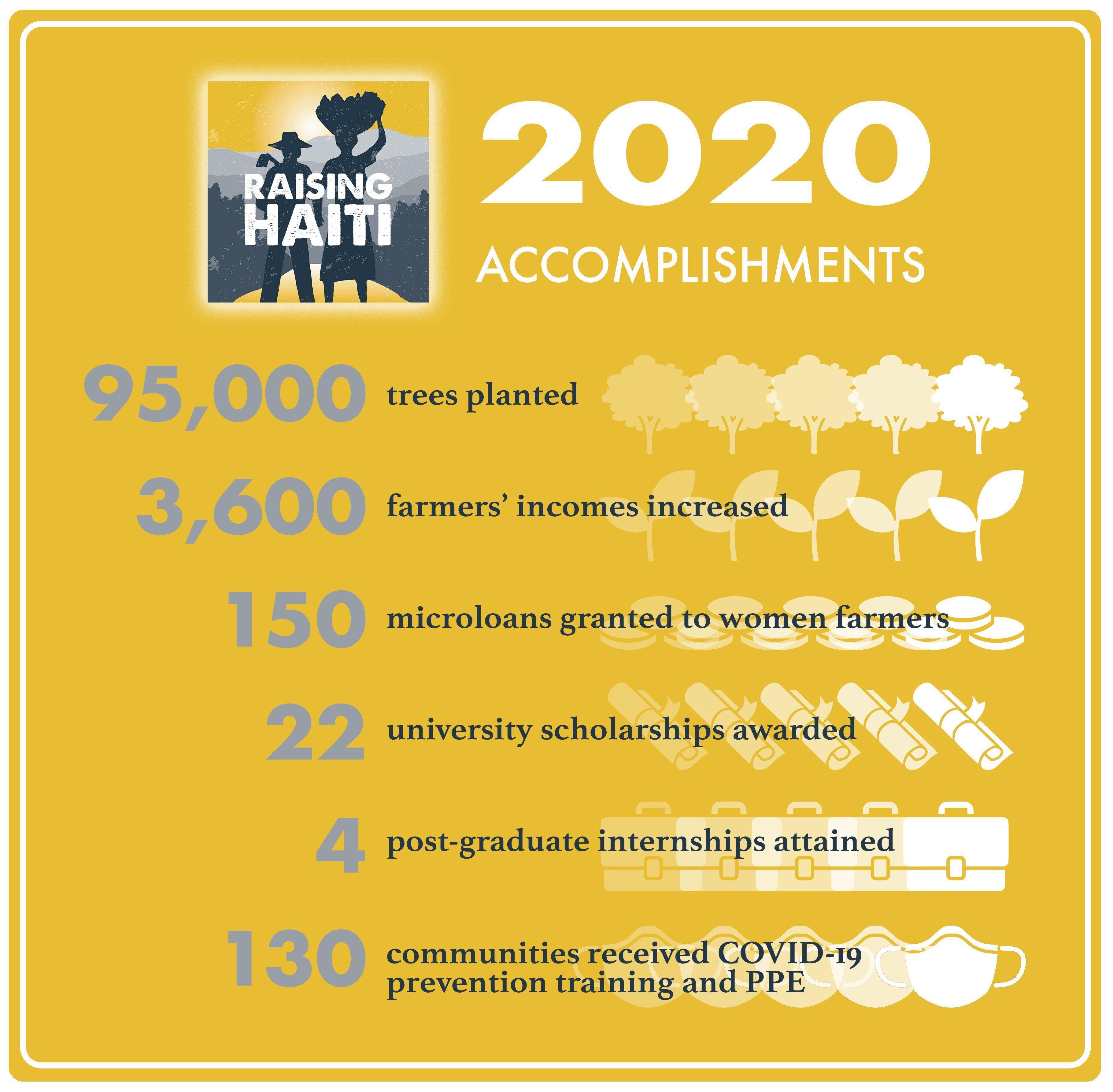 Raising Haiti Foundation 2020 Accomplishments