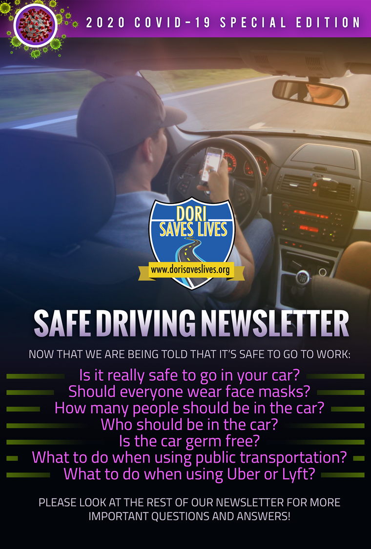 COVID -19 Safe Car Newsletter