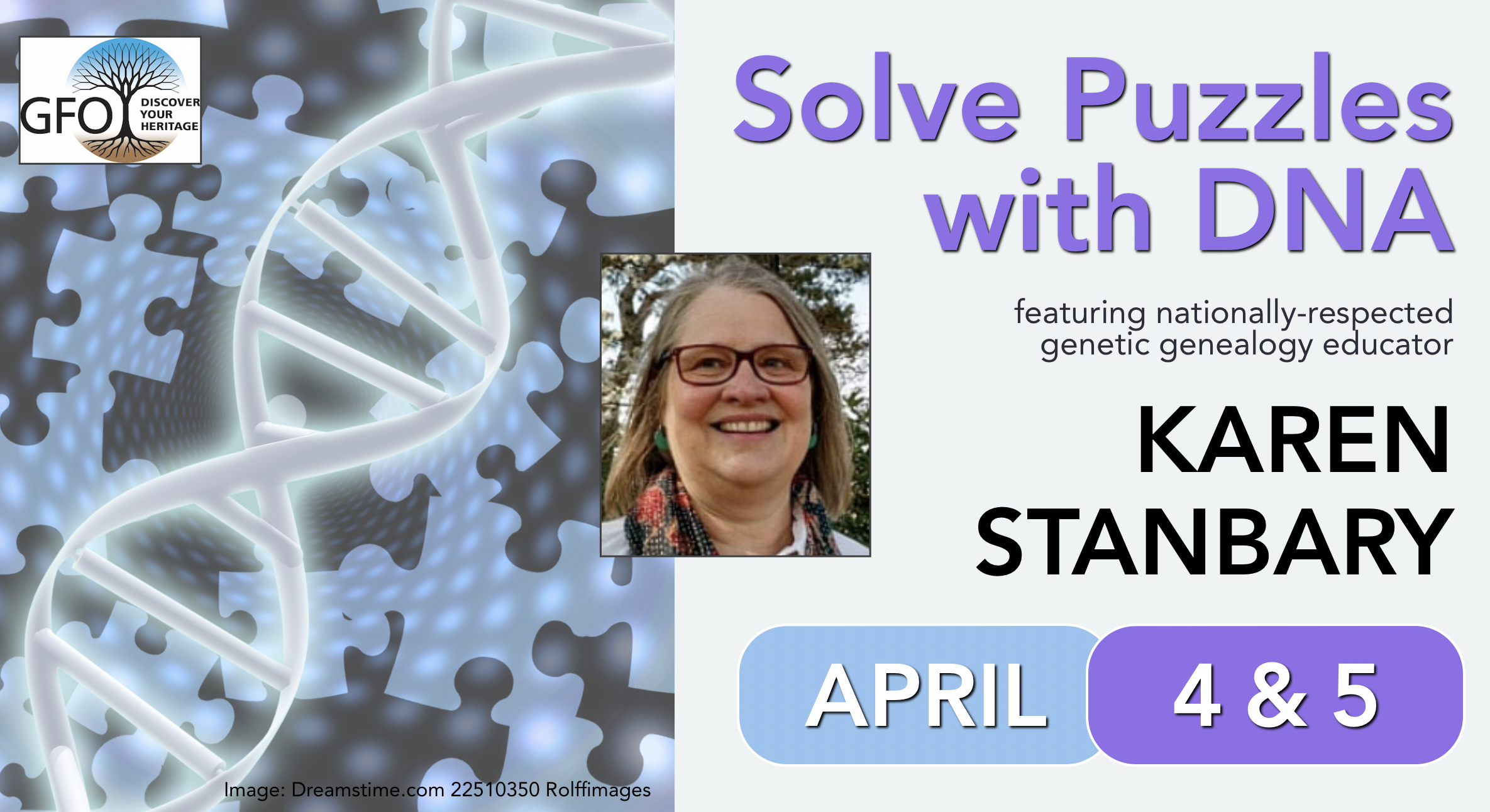 Spring Seminar: Solve Puzzles with DNA