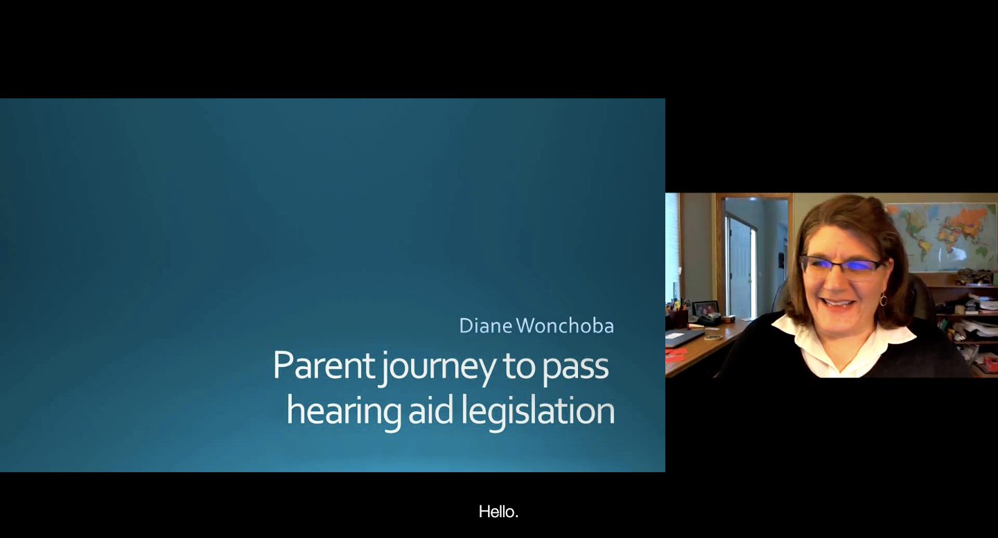 Parent Journey to Pass Hearing Aid Legislation