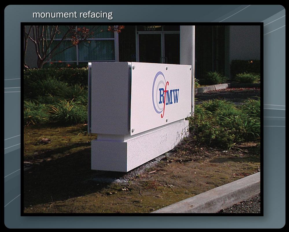 MONUMENT REFURBISH