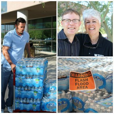 Western Refining Donates 1,000 Cases of Water