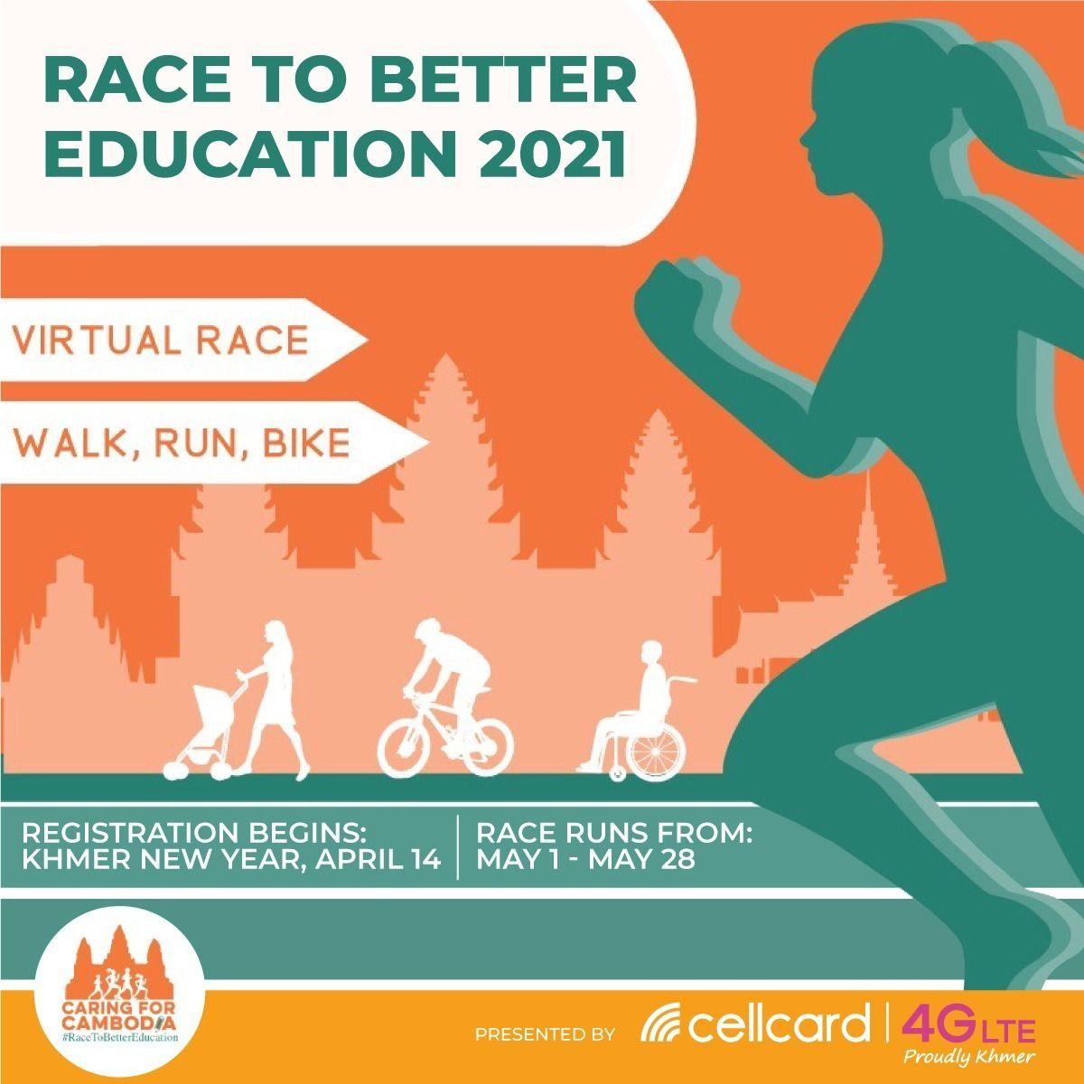 Race to Better Education Kicks Off Saturday, May 1