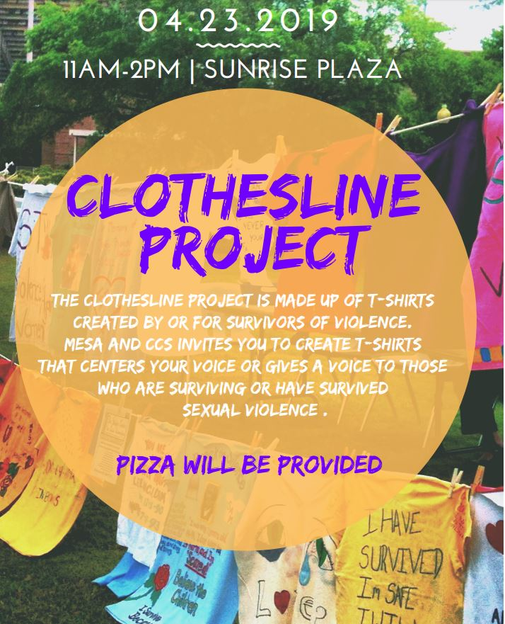 Clothes Line Project at Mesa College