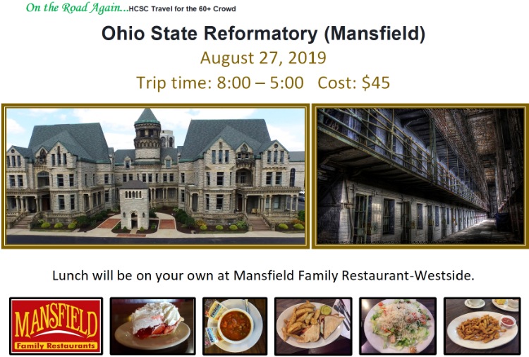 August 27 Ohio State Reformatory (Mansfield)