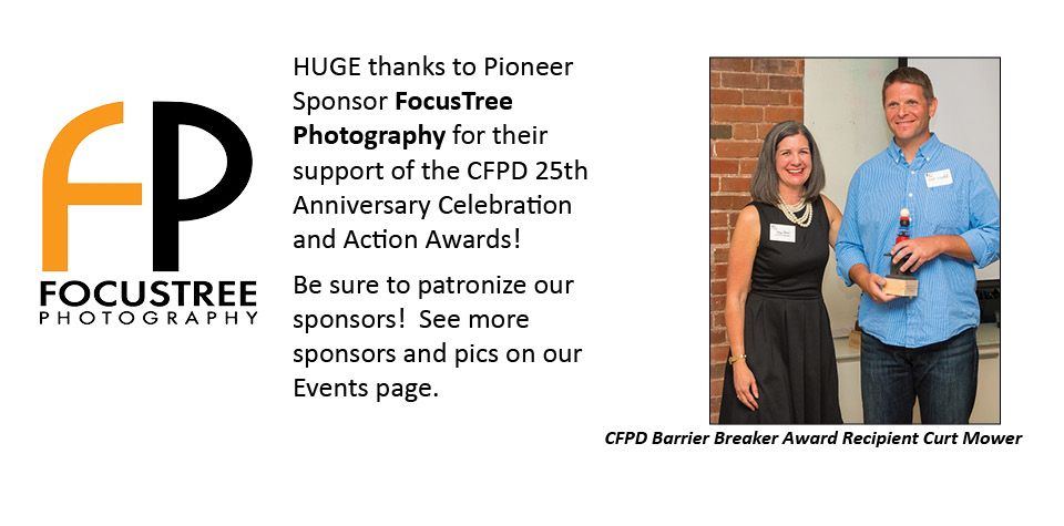CFPD Sponsor FocusTree Photography with Awardee Curt Mower