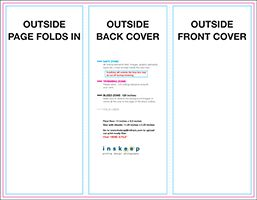 """8.5"""" x 11"""" Trifold"""