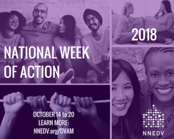 DV Awareness Month: Week of Action
