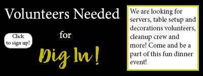 Dig In Volunteers Needed