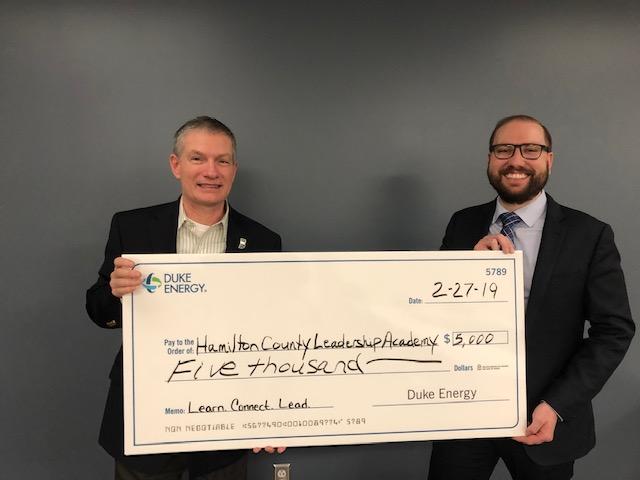 Duke Energy Awards Grant to Hamilton County Leadership Academy