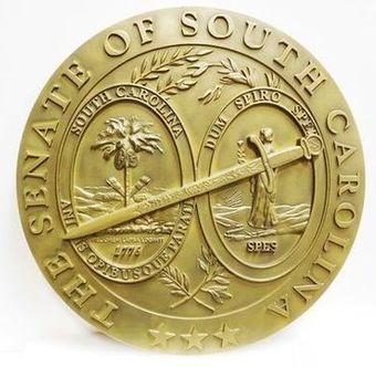 MB2273 - Seal of the Senate of South Carolina, 3-D
