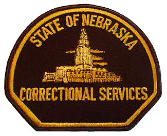 State of Nebraska Department of Corrections Badge