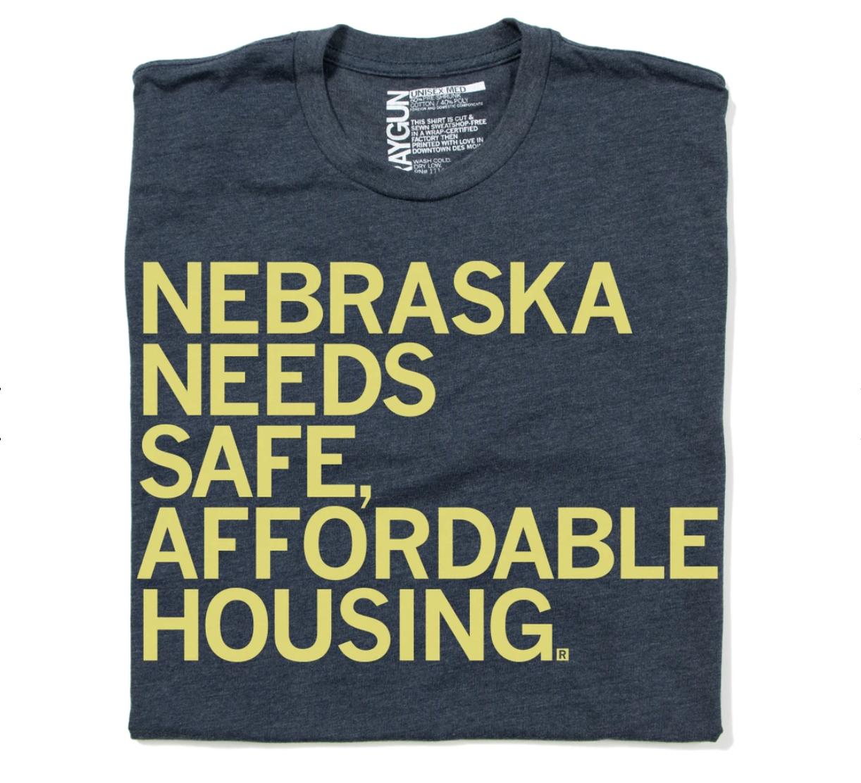 NE Needs Affordable Housing T-Shirts!