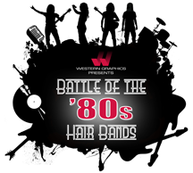 Western Graphics Launches New Annual Theme, Battle of the 80's Hair Bands!