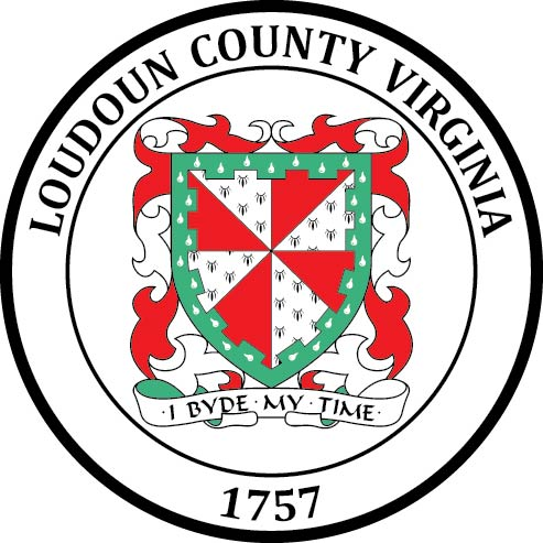 CP-1310 - Carved Plaque of the Seal of Loudoun County, Virginia,   Artist Painted