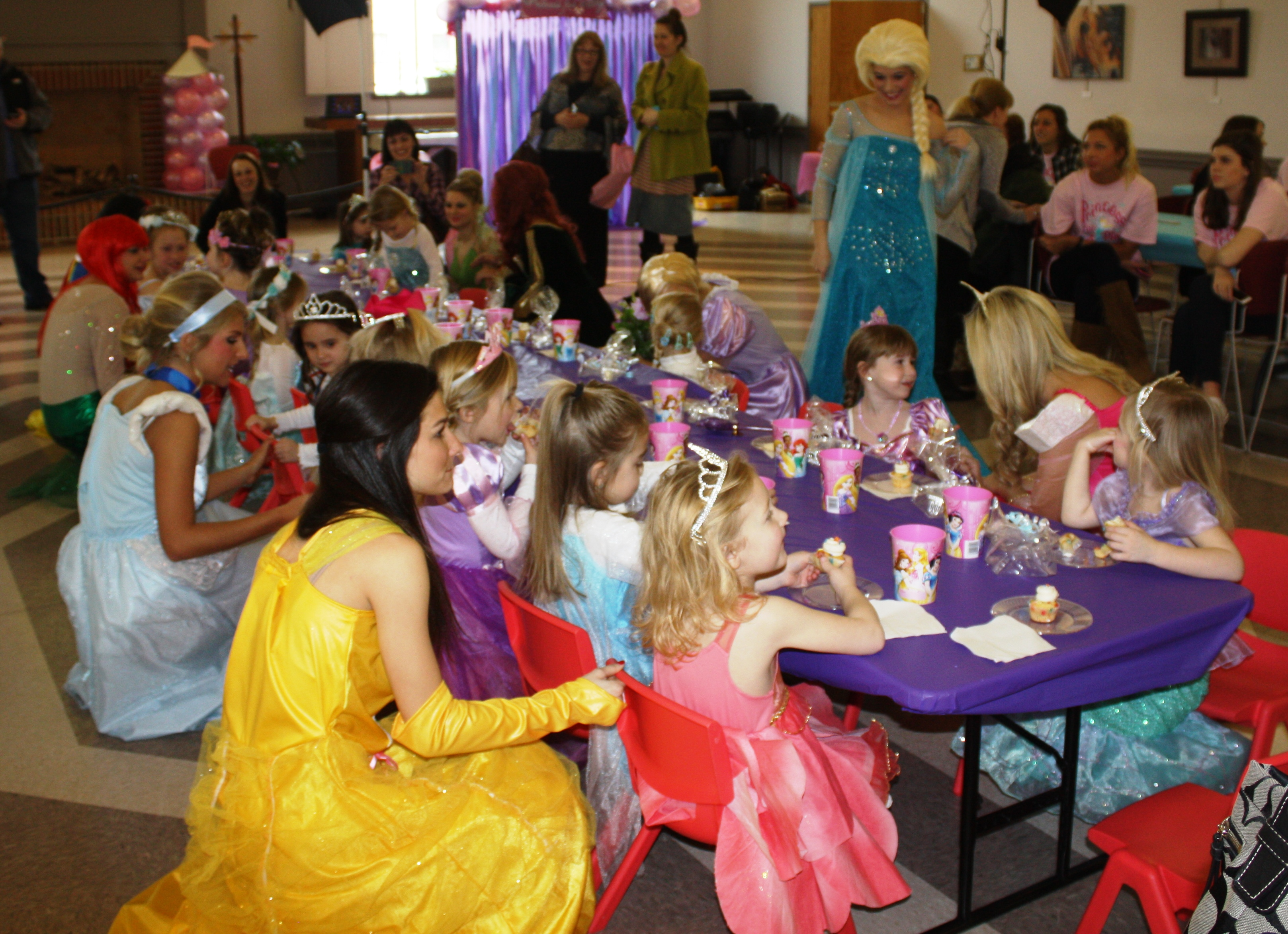 Tea Party at 2015 Princess Event