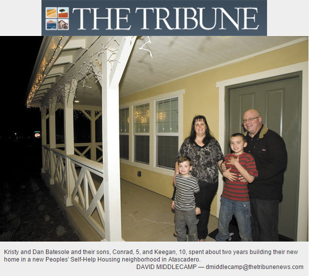 After 2 years of work, Atascadero family settles into new home - The Tribune