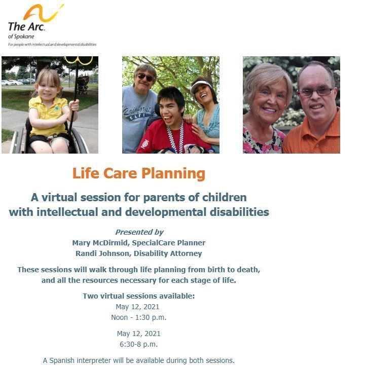 Life Care Planning (Planning from birth to death)