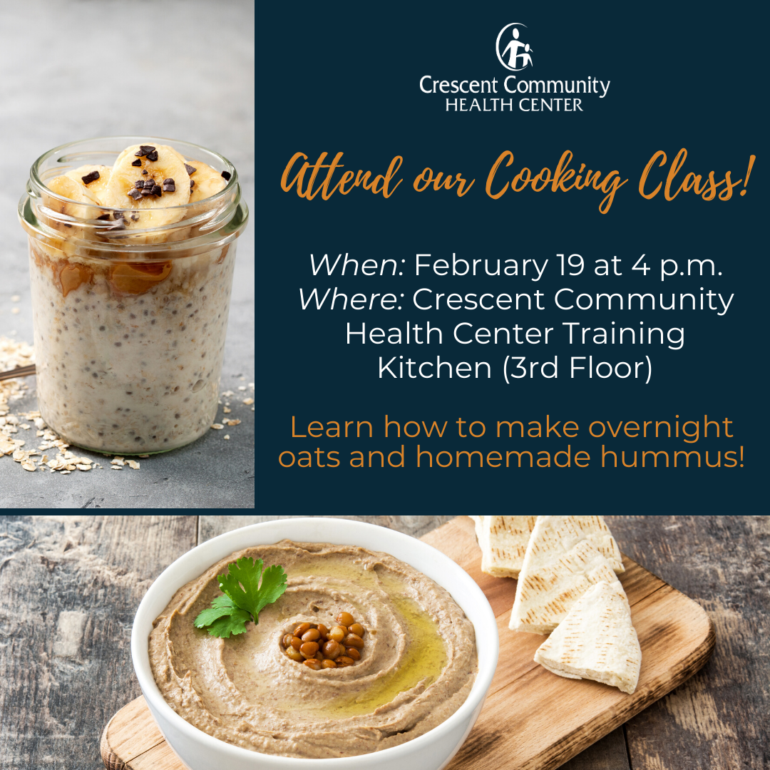 Attend our Cooking Class!