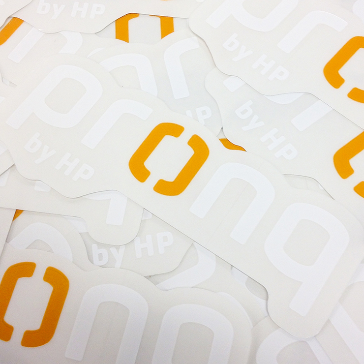 HP Pronq Die Cut Decals