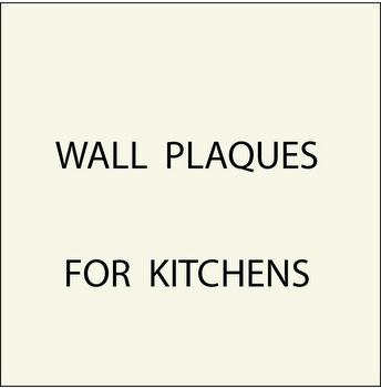 N23100 - 3. Kitchen Plaques
