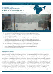 Alternative Development Pathways: Examining the 2021 Gorakhpur Master Plan  (Policy Brief)