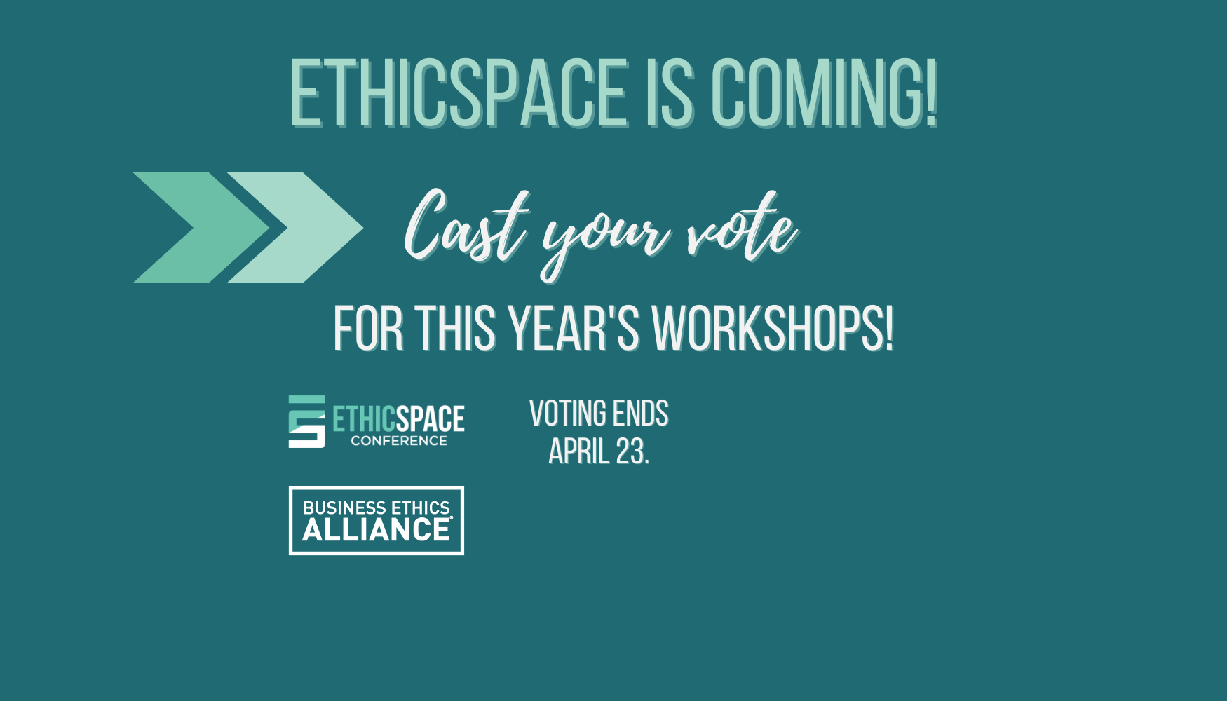 Cast your vote for EthicSpace.