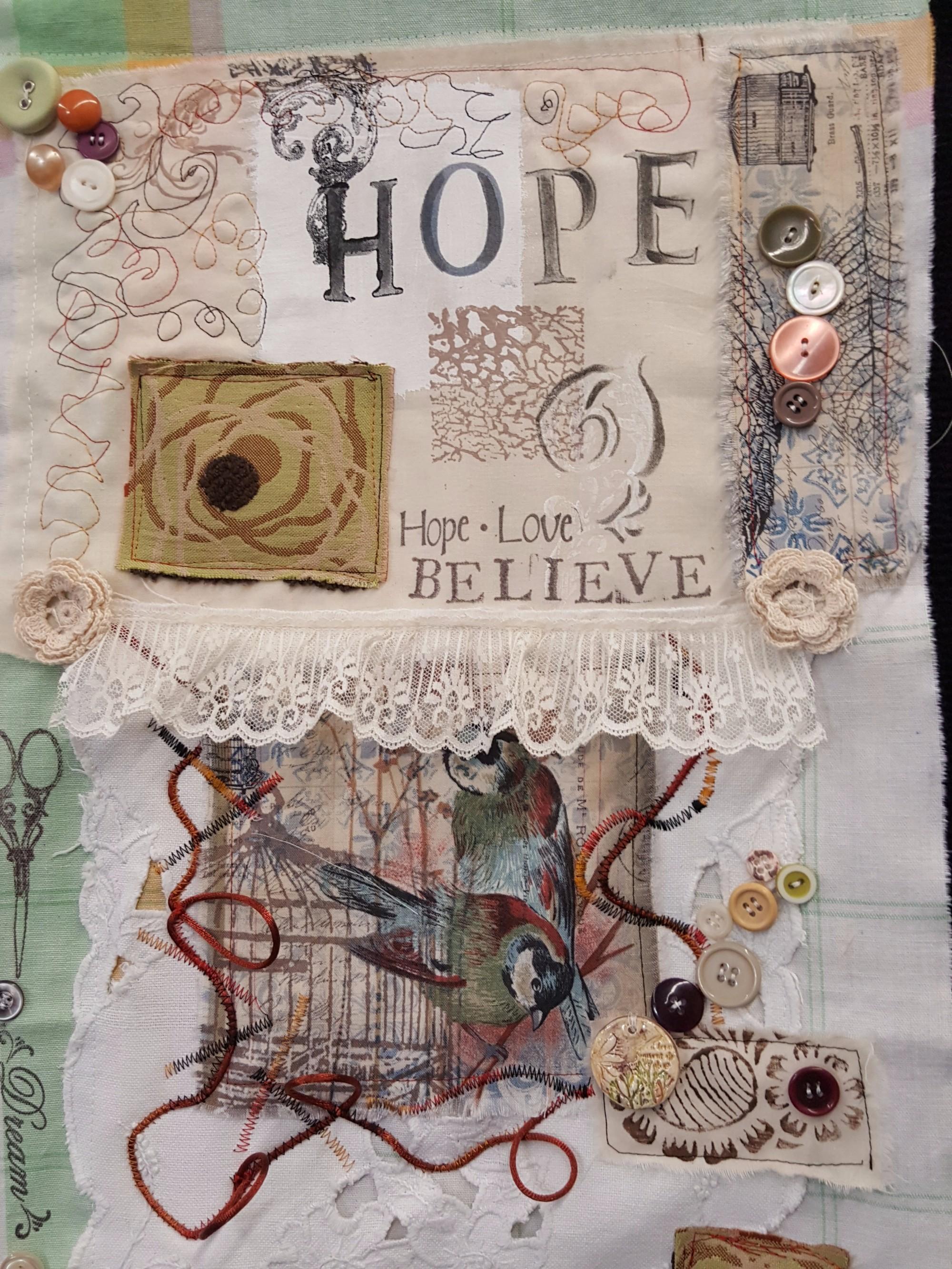 Hope Prayer Flag