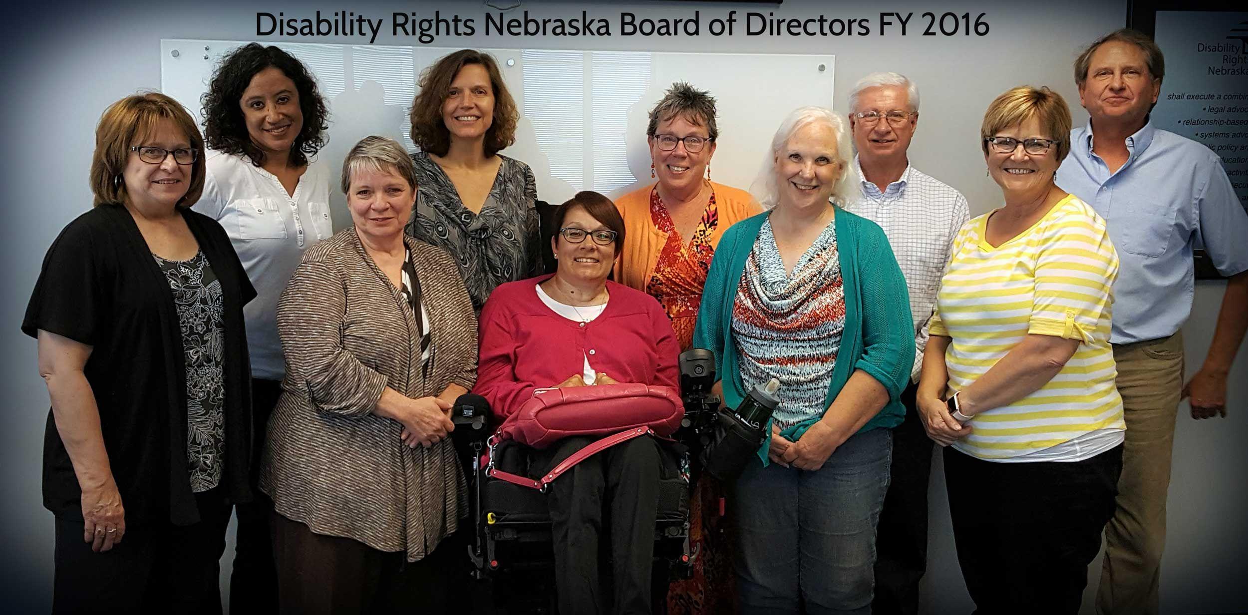 Disability Rights Nebraska Salutes Three Retiring Board Leaders