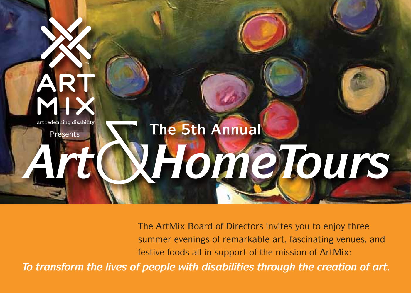 2018 Art & Home Tour Package