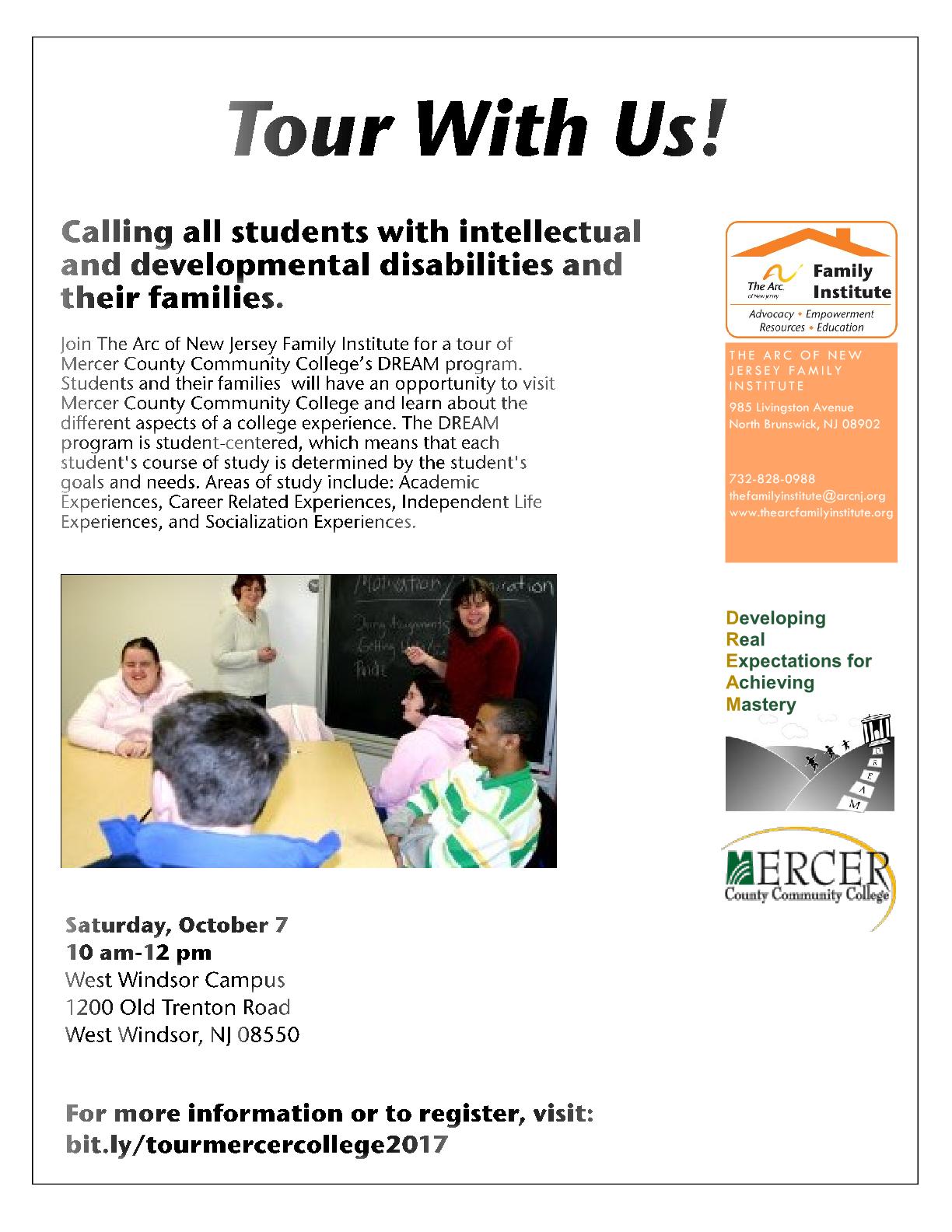 Mercer County Community College's DREAM program