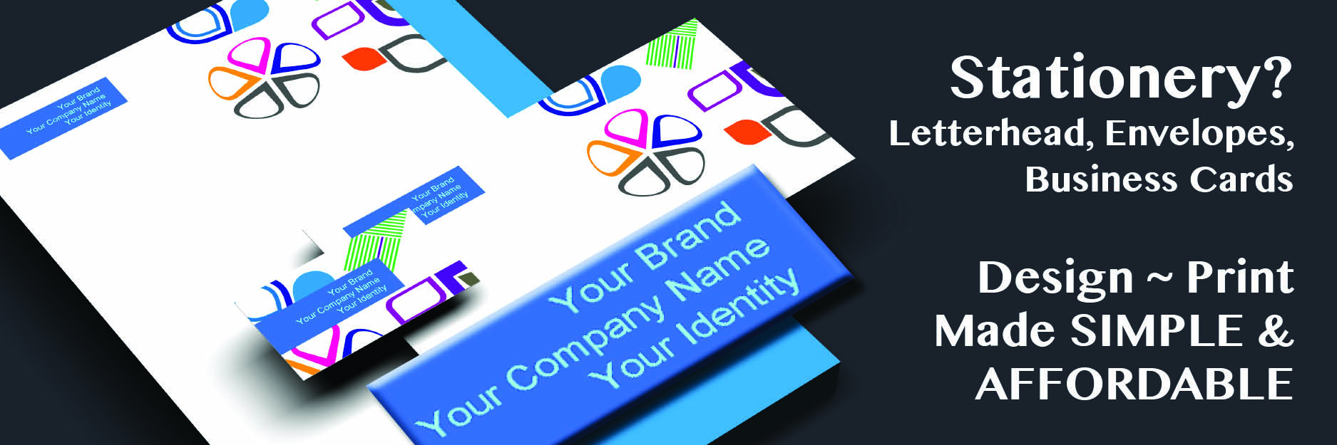 Stationery_Letterhead, Envelopes, Business Cards