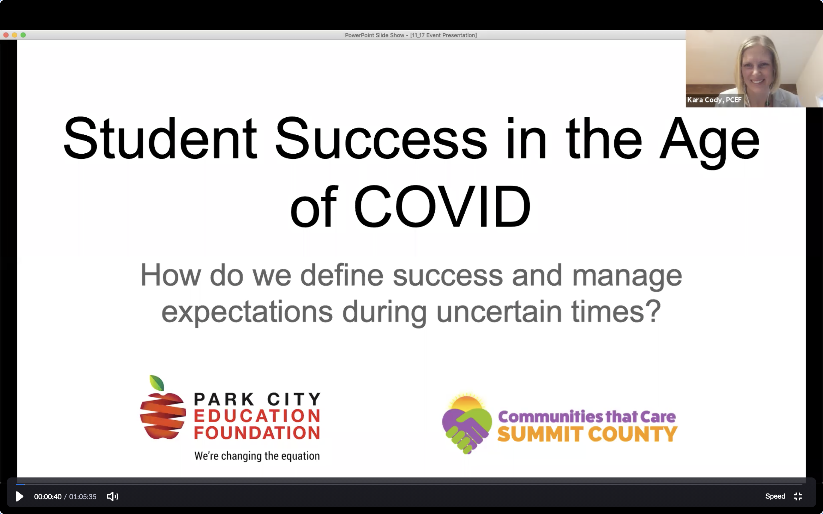 Redefining Success in the Age of COVID