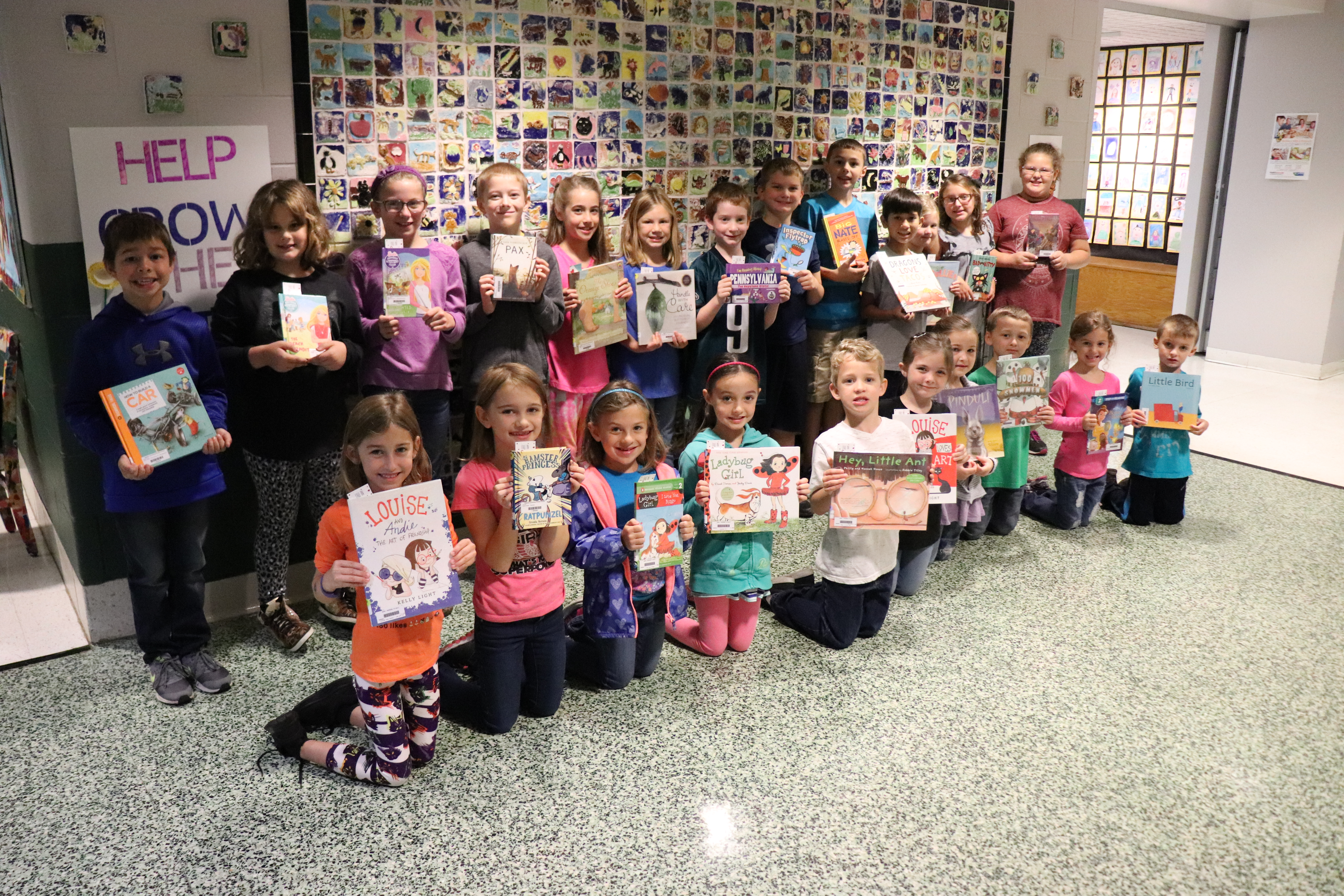 WASDEF Awards 95 Books to Summer Readers, Elementary Libraries