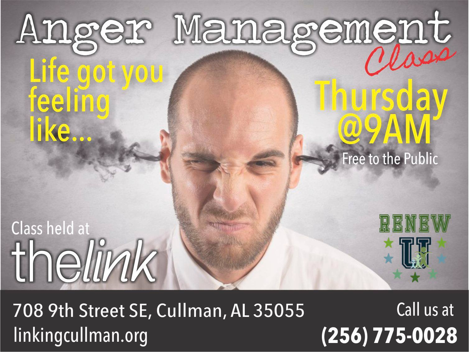 Anger Management - Renew U