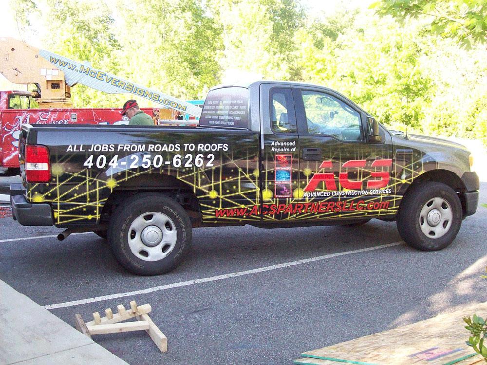 ACS truck 3/4 Wrap