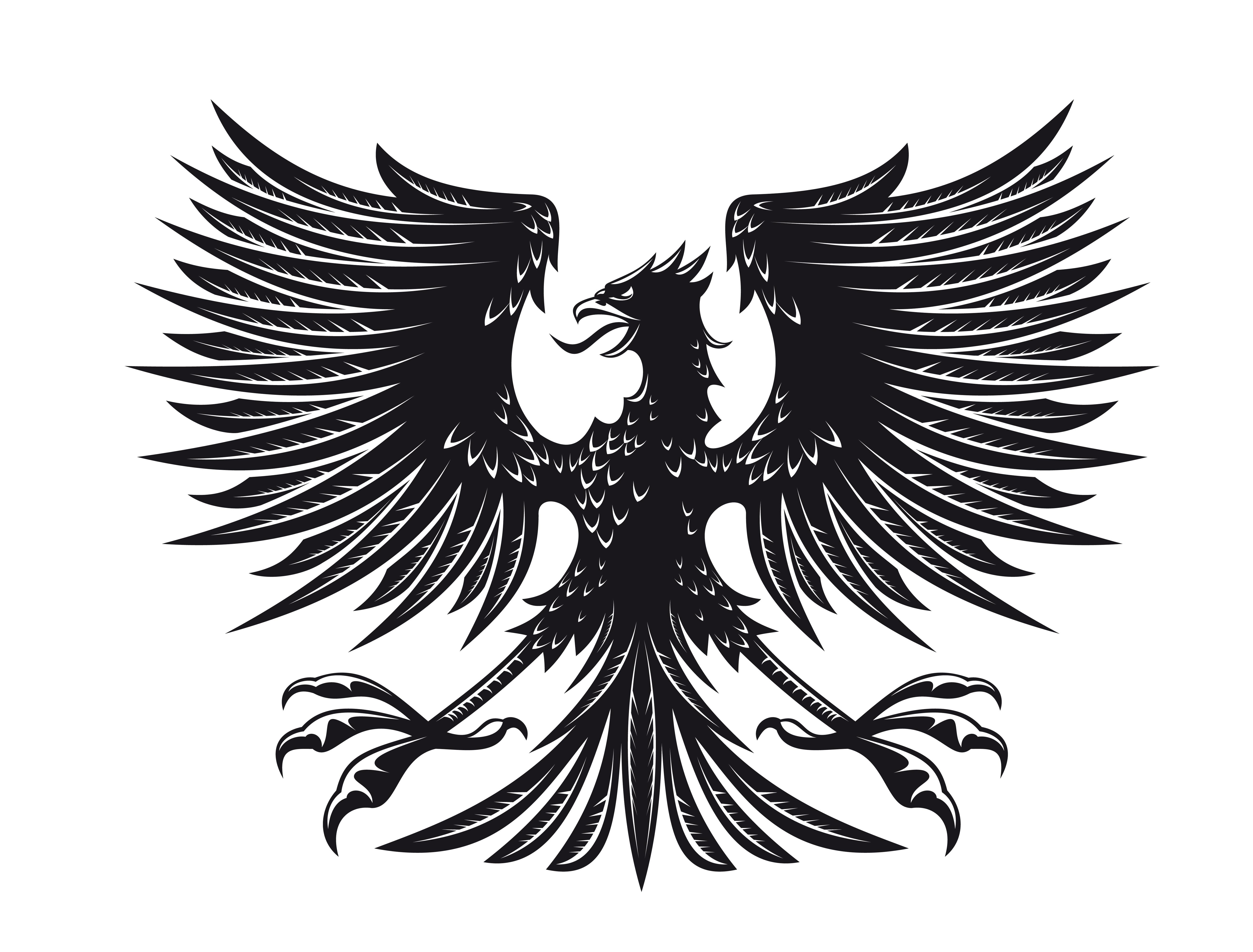 Car sticker eagle - Eagle car decals