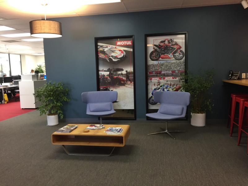 Lobby Window Graphics Cypress CA