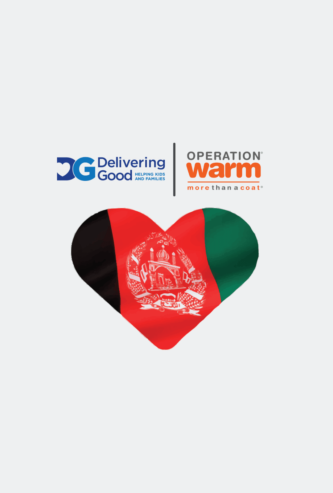 We are proud to partner with Delivering Good on their response to Afghan refugee relief