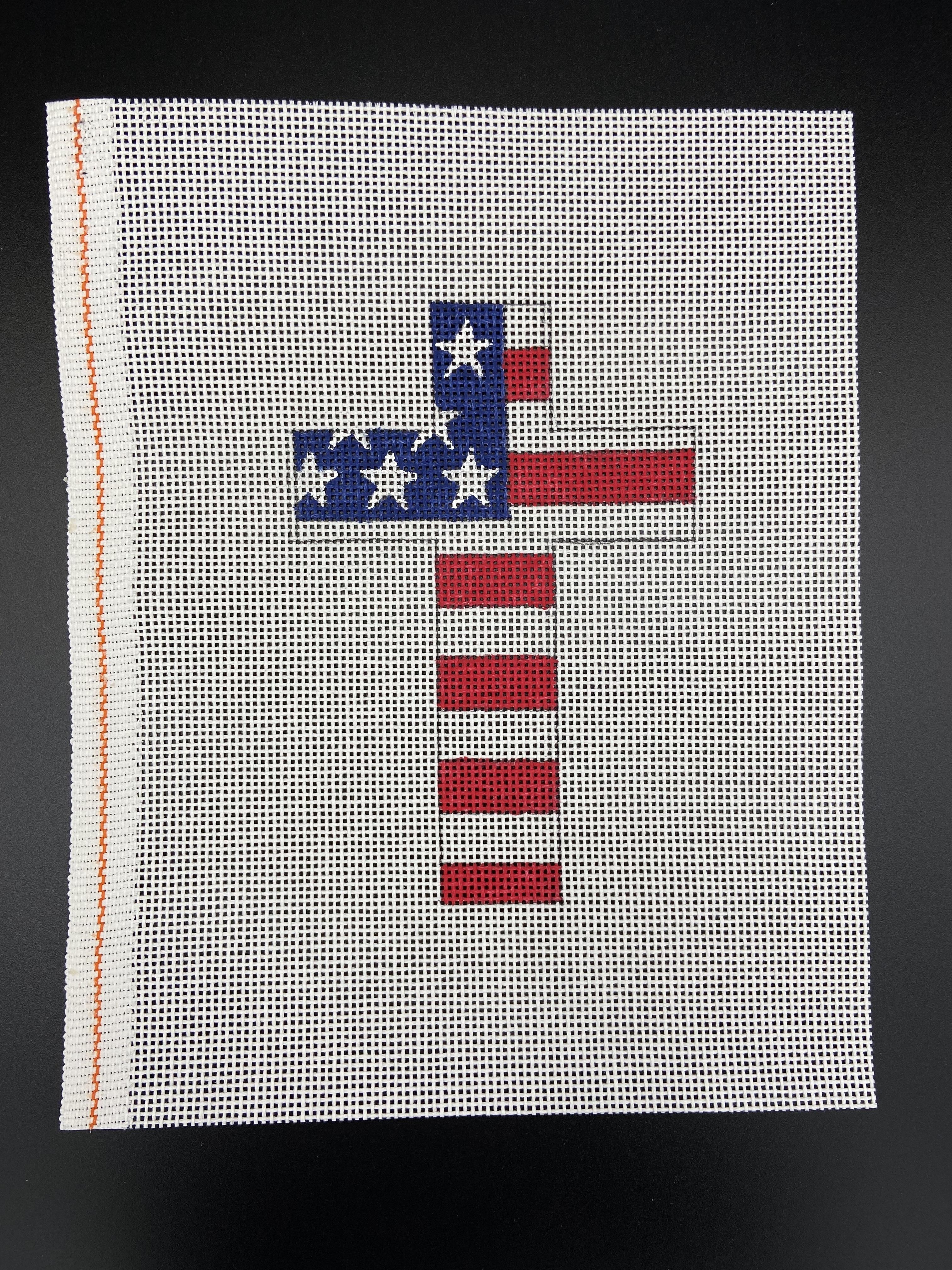 Stars & Stripes Cross