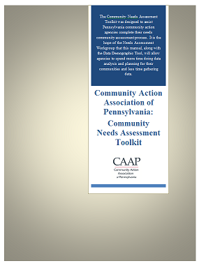 CAAP Commuity Needs Assessment Toolkit