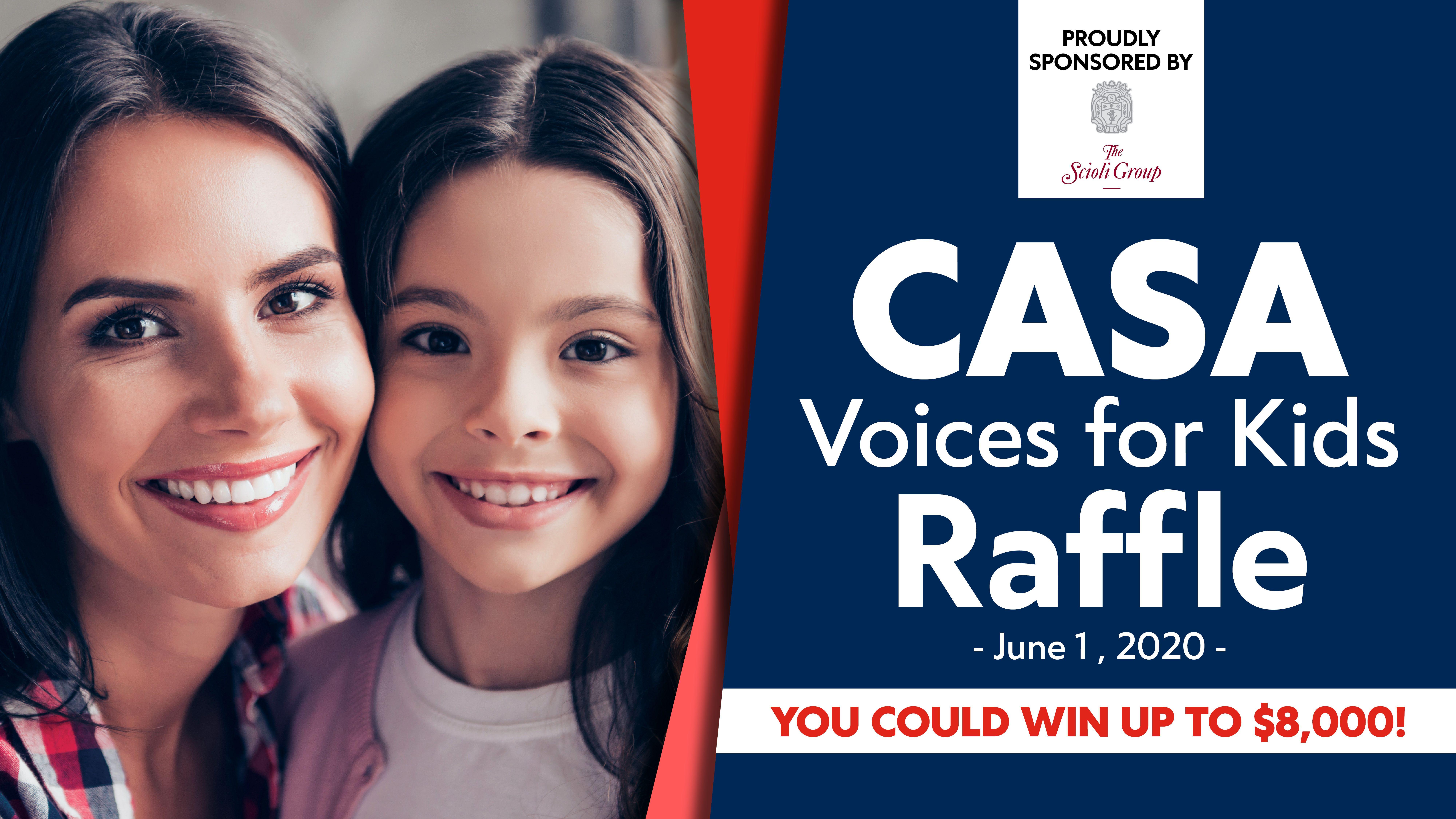 CASA Voices for Kids Raffle
