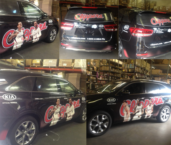 LA Clippers Full Wrap